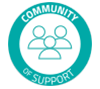 Community of Support Seal