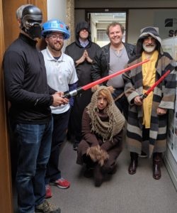 GSAF staff as Star Wars characters 1 - 2019
