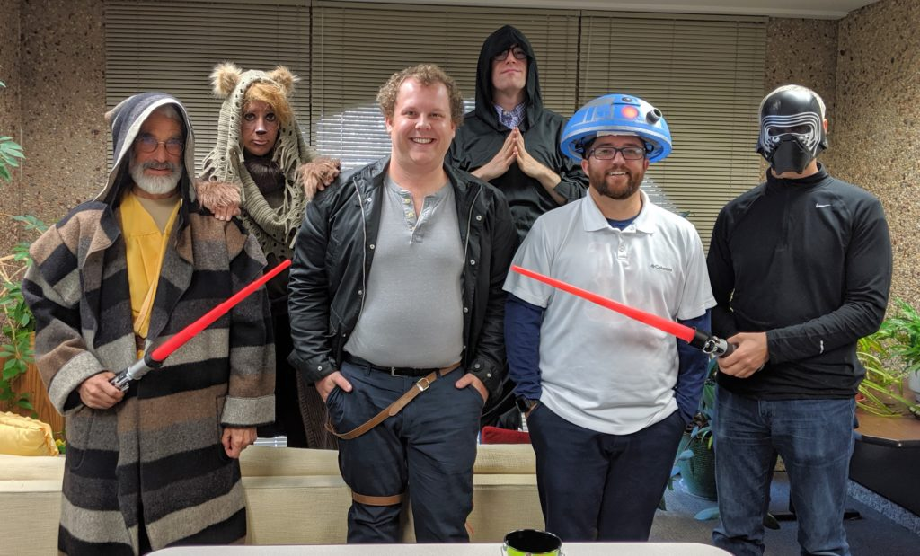 GSAF staff as Star Wars characters 2 - 2019