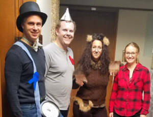 GSAF staff as Wizard of Oz characters - 2018