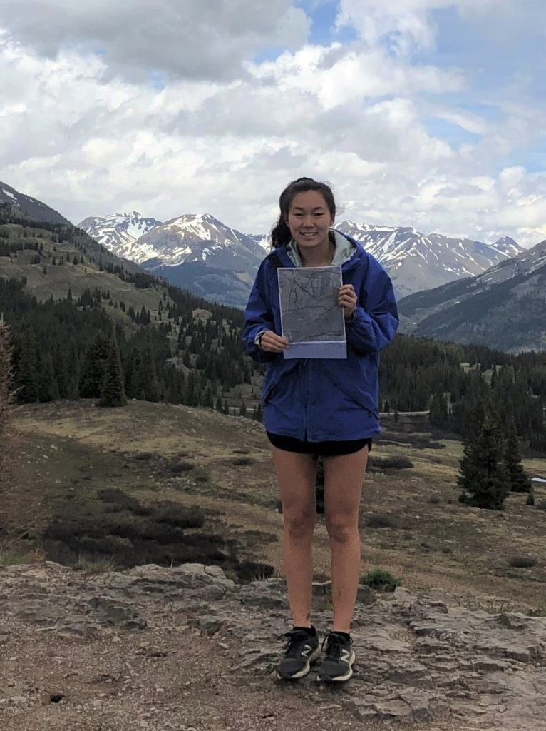 Natalea Cohen at Molas Pass, Colorado